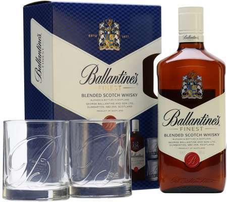 Ballantine's s 2 pohármi 40% 0