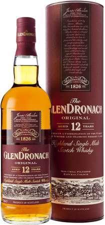 GlenDronach 12 ročná Double Cask 43% 0
