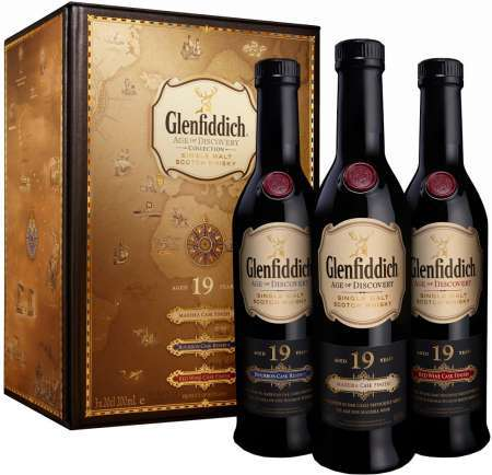 Glenfiddich 19 Ročná Age Of Discovery Collection 40% 0