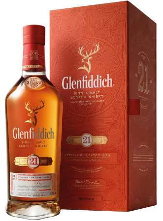 Glenfiddich 21 Ročná Gran Reserva 40% 0