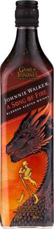 Johnnie Walker Song of Fire Game of Thrones 40