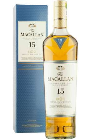 Macallan 15 Ročná Triple Cask Matured 43% 0