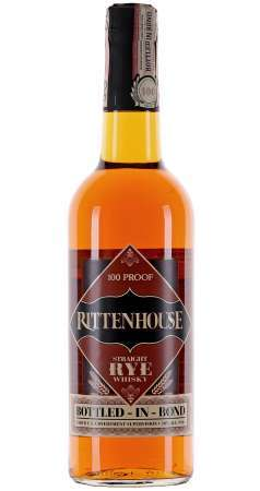 Rittenhouse Straight Rye Whisky 50% 0