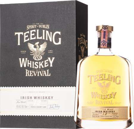 Teeling 12 ročná - The Revival V Cognac & Brandy Casks 46% 0