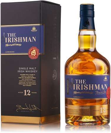 The Irishman Single Malt 12 ročná 43% 0