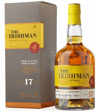 The Irishman Single Malt 17 ročná 56% 0