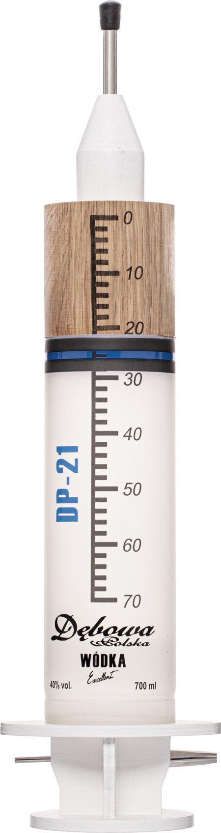 Debowa - Injekčná striekačka 40% 0
