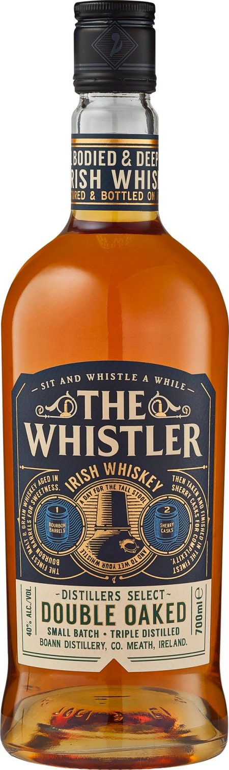 The Whistler Double Oaked 40% 0