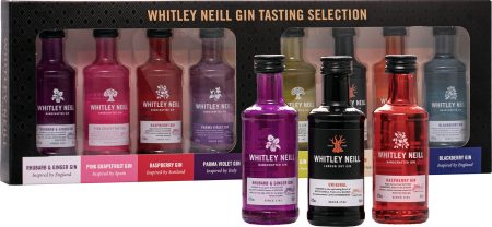 Whitley Neill Gin Tasting Selection 8 x 0